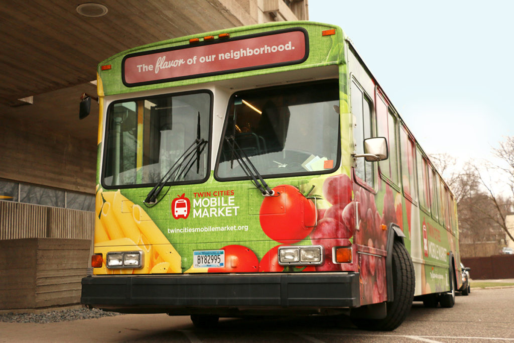 Twin Cities Mobile Market bus